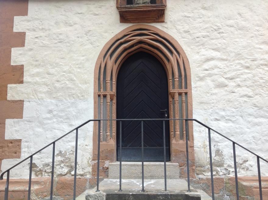 Right fine doorway