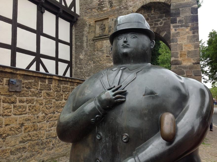 Bronze public art
