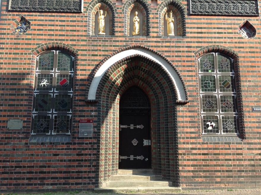 Brick Gothic doorway