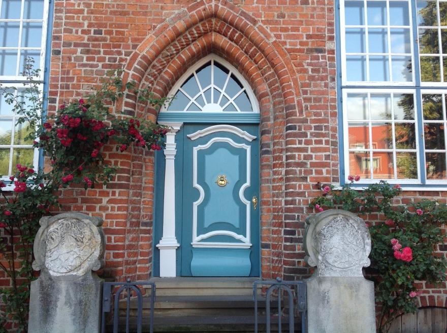 More modest doorway