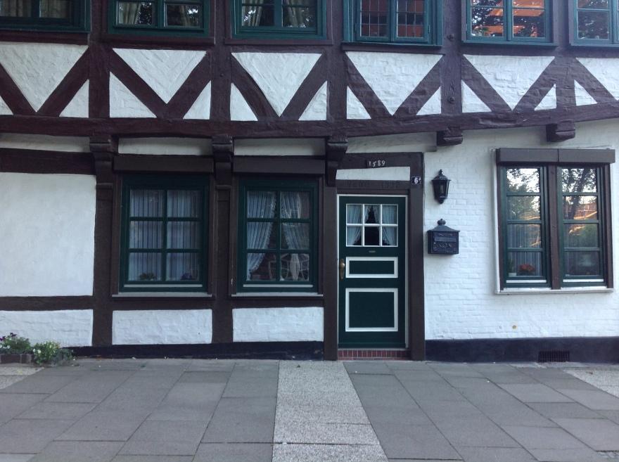Half timbered doorway
