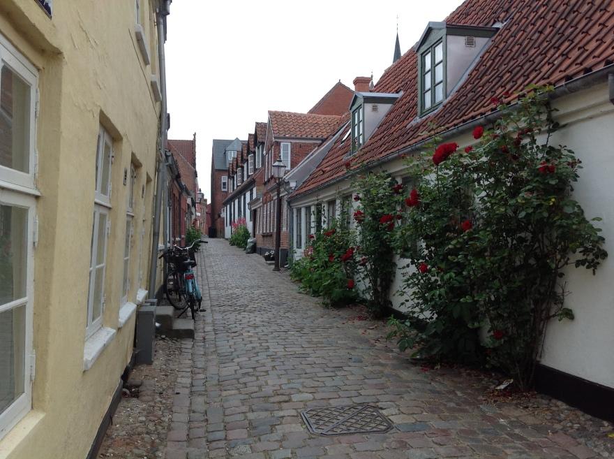 Typical Danish street scene