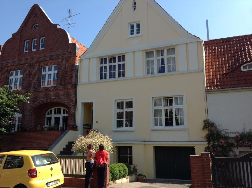 Eva's childhood home