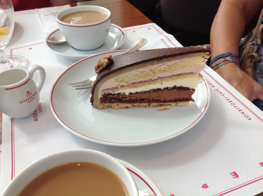 The payoff - Kaffee and Kuchen in the best of places
