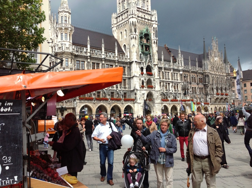 In the center of Munich
