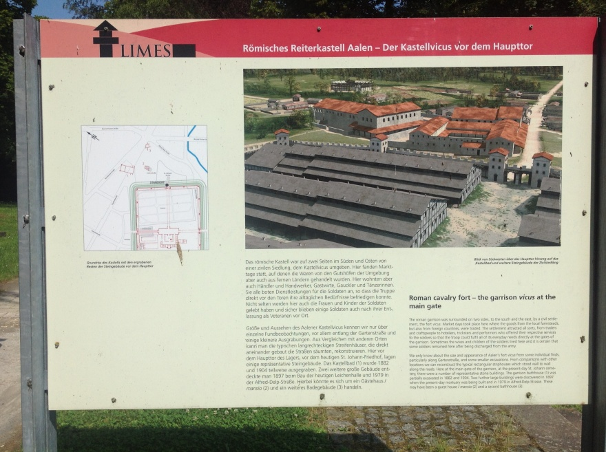 The Roman fort