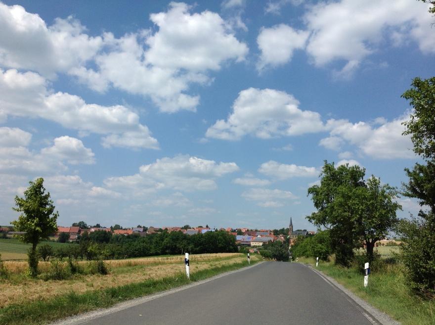 Distant view of Martinsheim