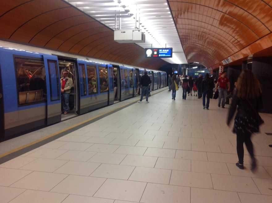 Speedy Munich subway