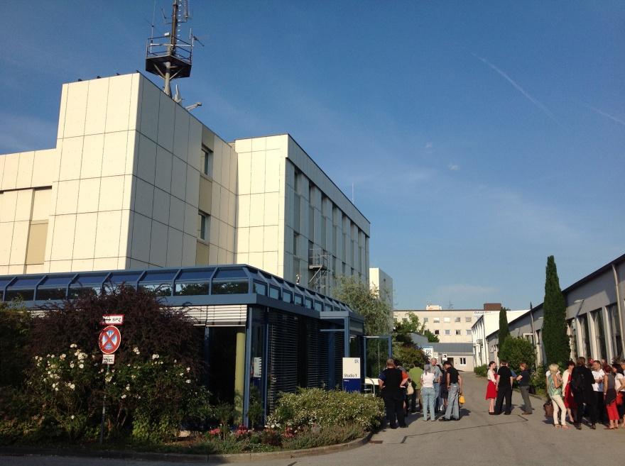 Bayrische Rundfunk studios