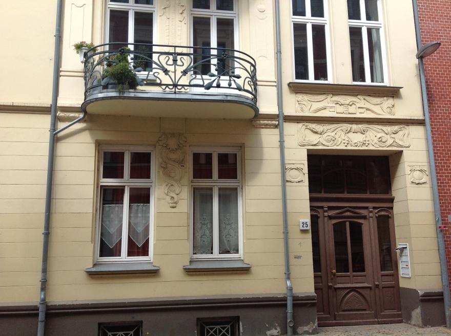 Decorative balcony