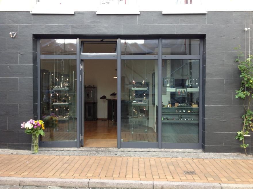 Modern storefront