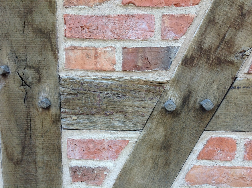 Pegs, not nails, hold half-timbered houses together - for centuries