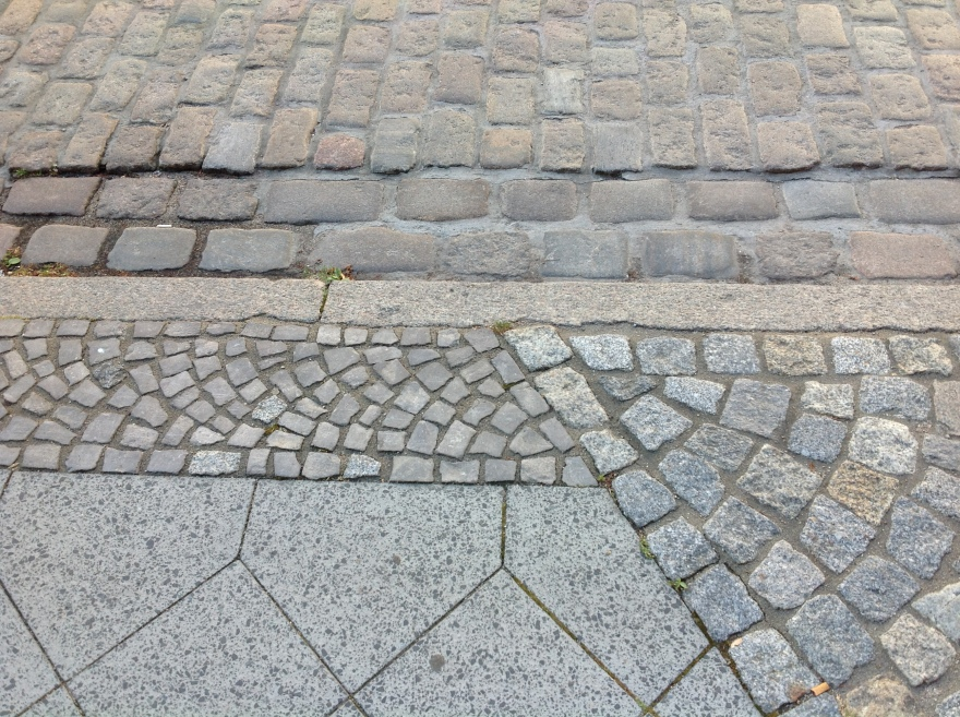 More pavement art