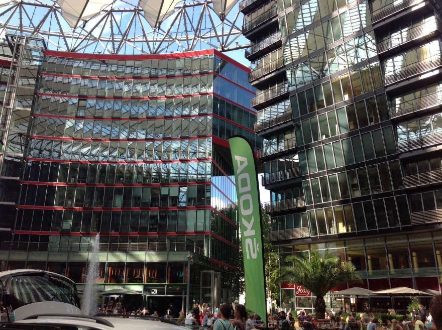 Potsdamer Platz - Sony Center