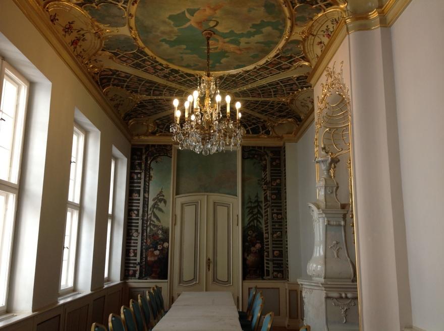 A banquet room