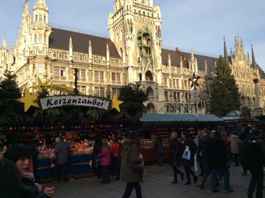 Daytime in the center of Munich