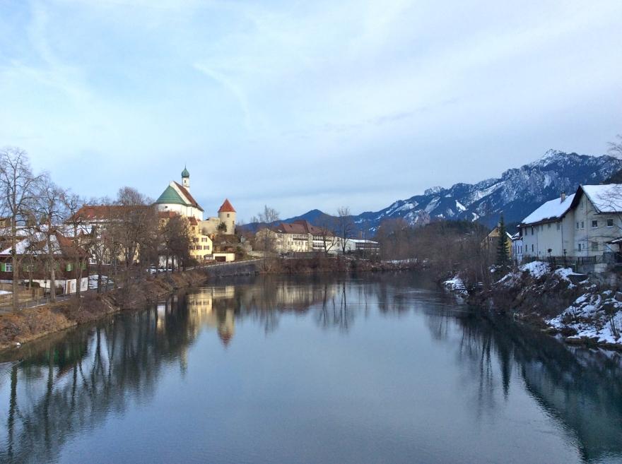 Füssen - the setting