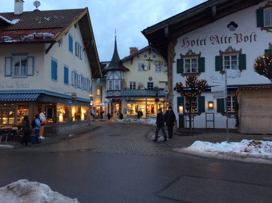 Downtown Oberammergau
