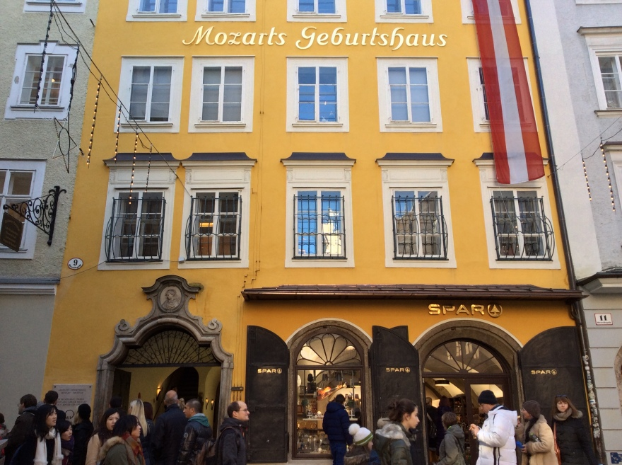 Birth place of Wolfgang Amadeus Mozart
