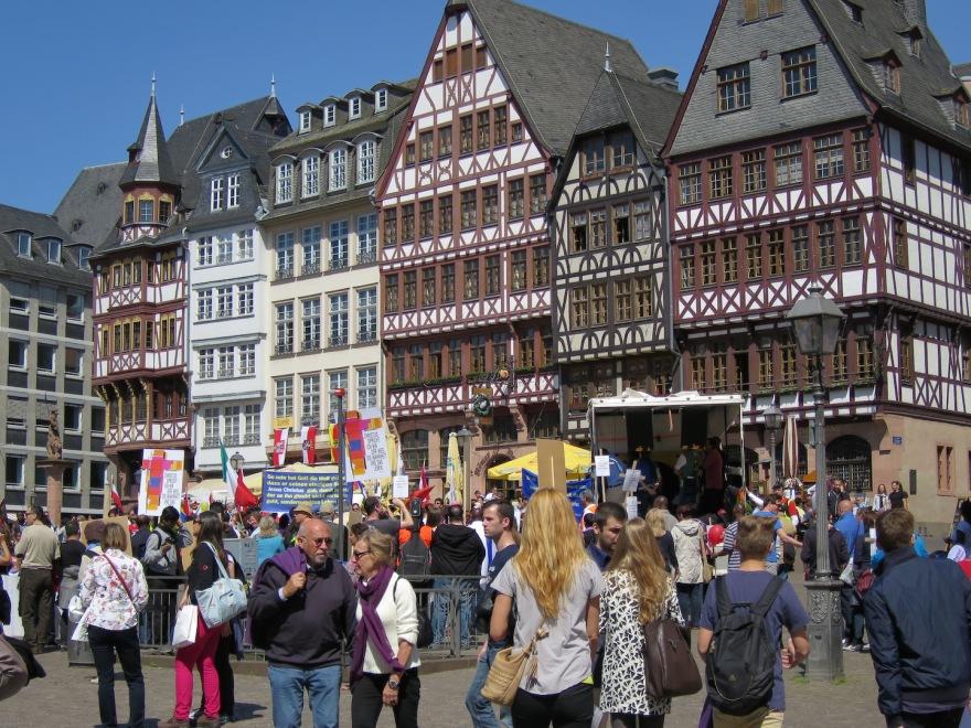 Reconstructed Römer Platz