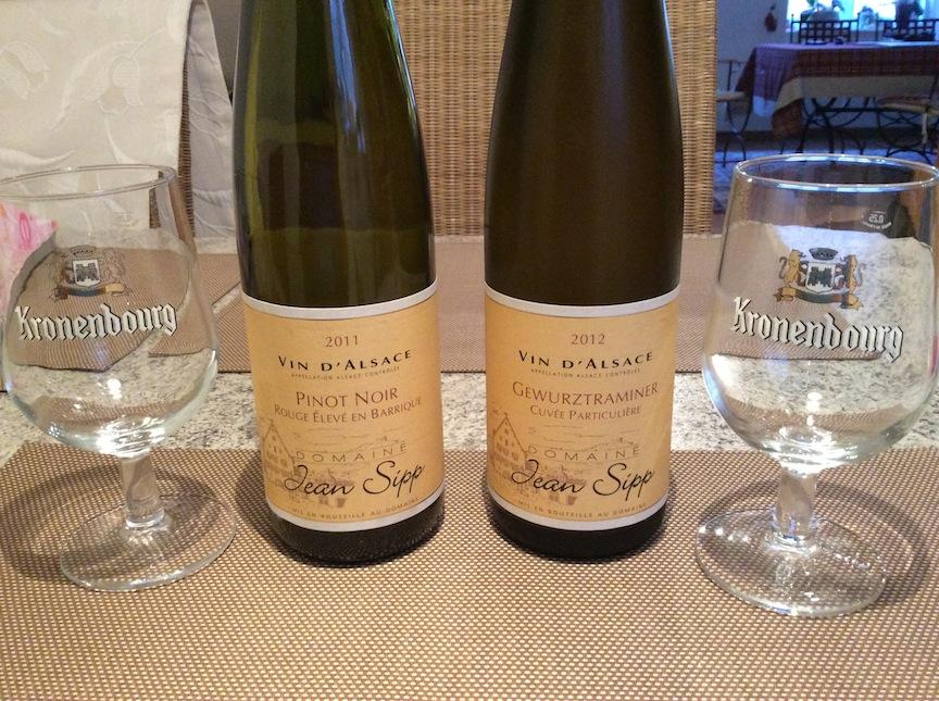 Fine Alsatian wines