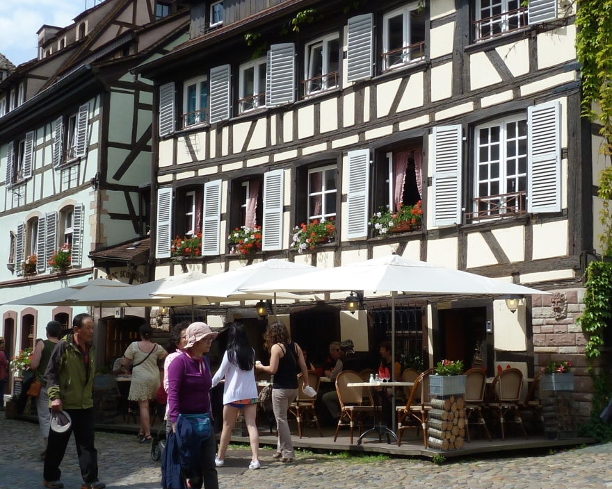 Just another half-timbered building