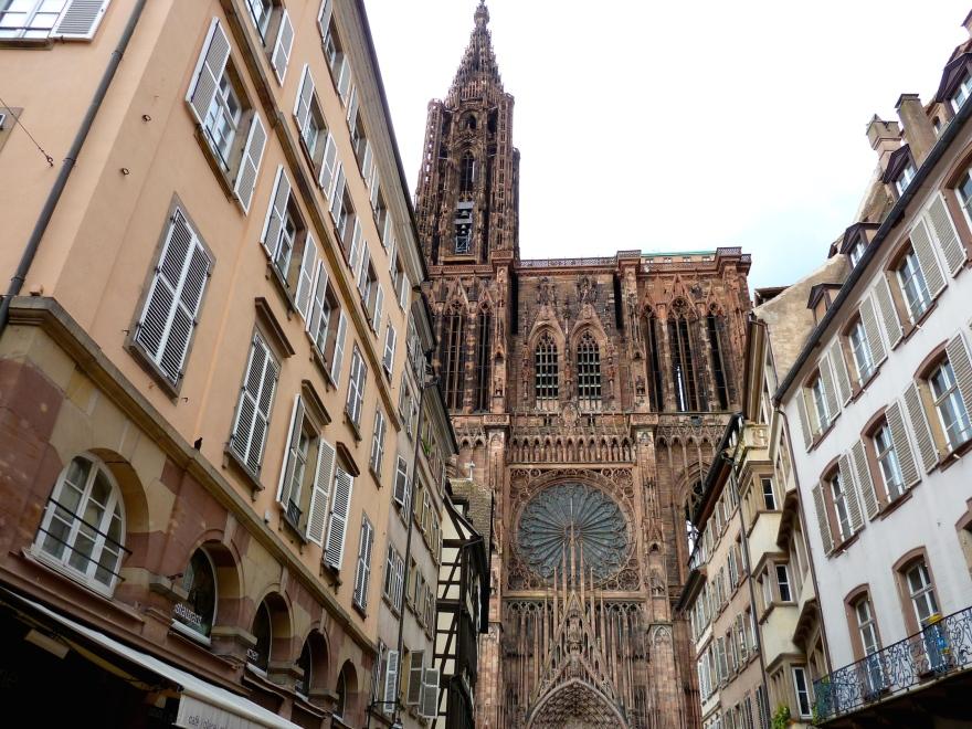 La Cathedrale - Strasbourg's major tourist draw