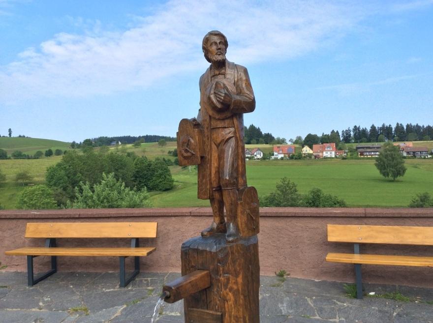 The sculptor, Karlheinz Freikowski