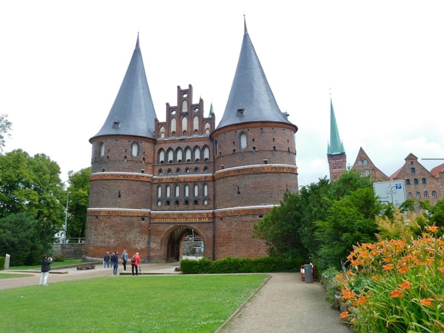 The Holstentor, Lübeck's famous landmark