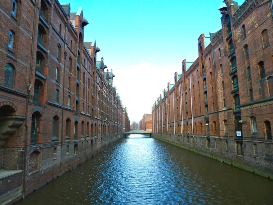 Hamburg's Restored  Warehouse District