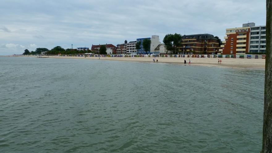 Sandy Beach As Far As You  can See