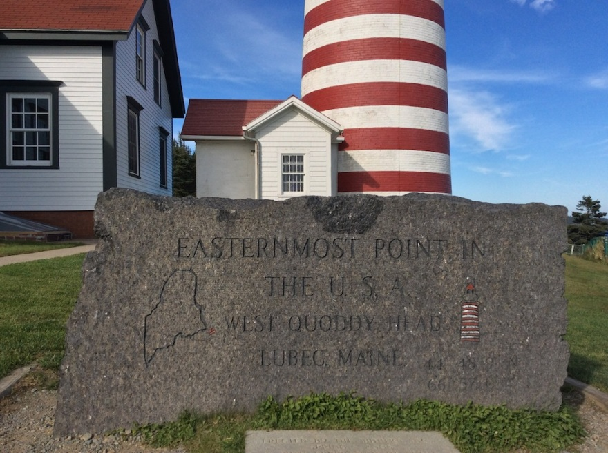 The easternmost point in the United States