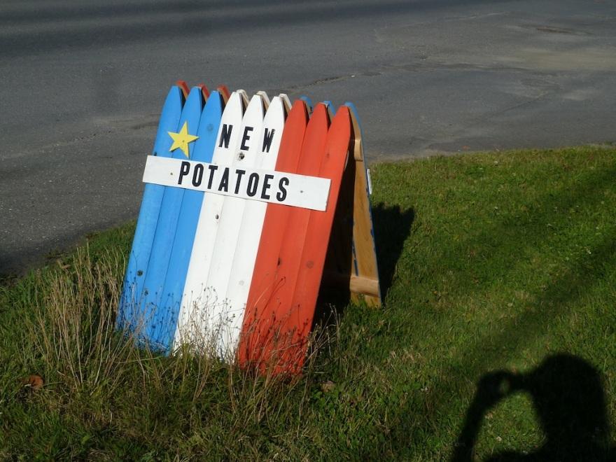 Patriotic potatoes