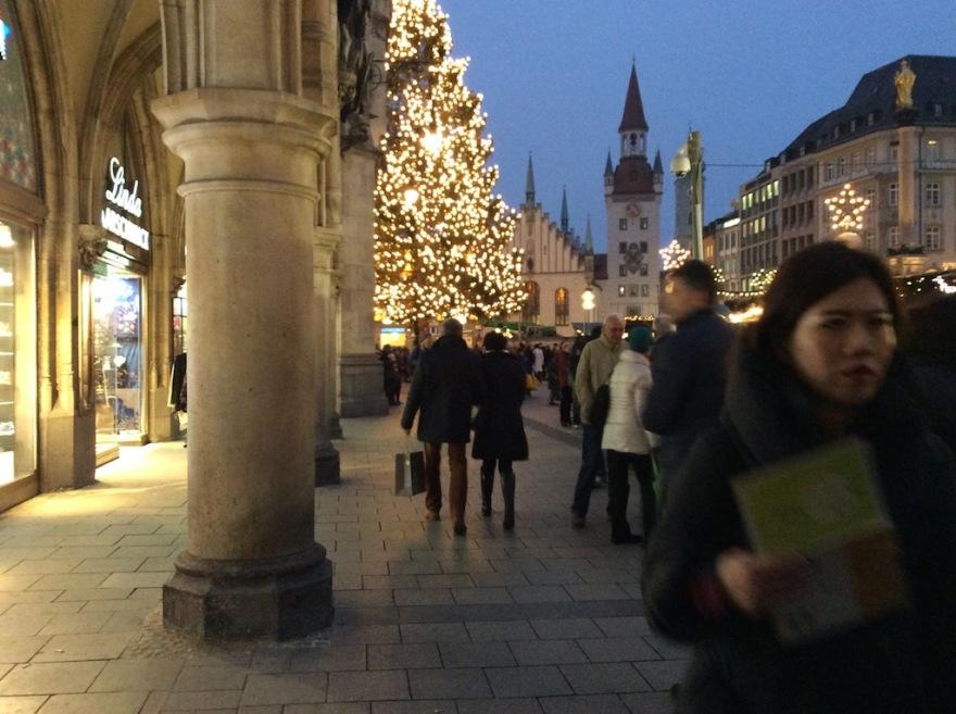 Marienplatz - the heart of downtown