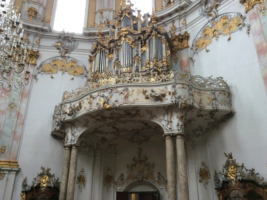The lovely organ