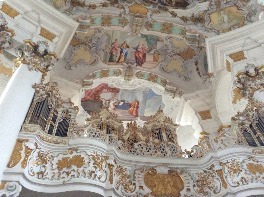 Traditional frescoes and stucco  work