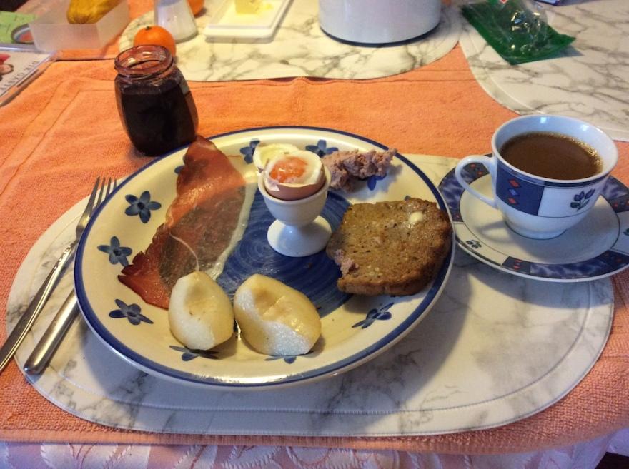 a good homemade breakfast