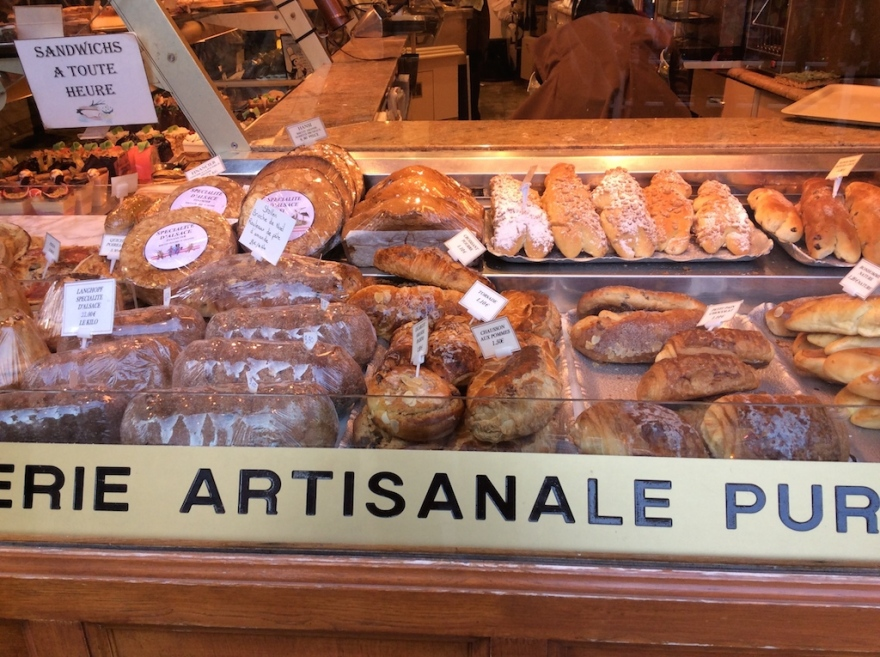 Artisanal bread shop, or boulangerie