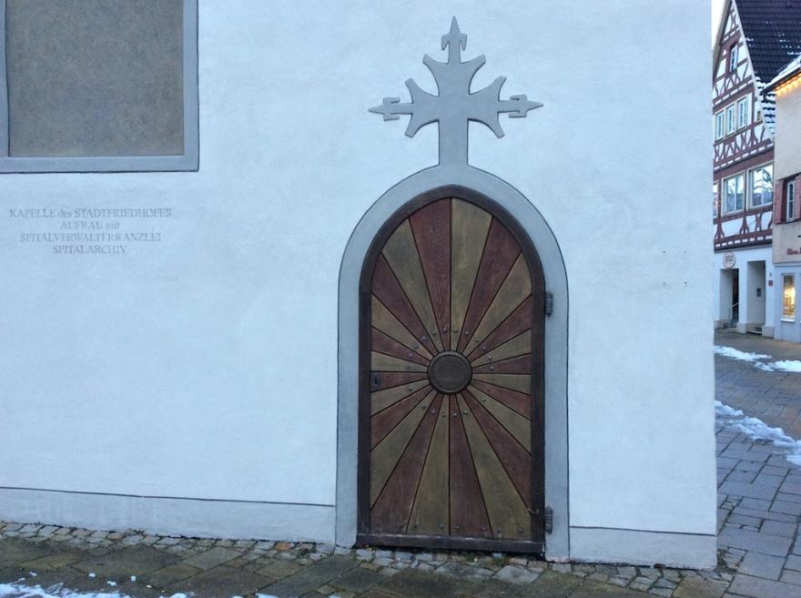 Interesting door