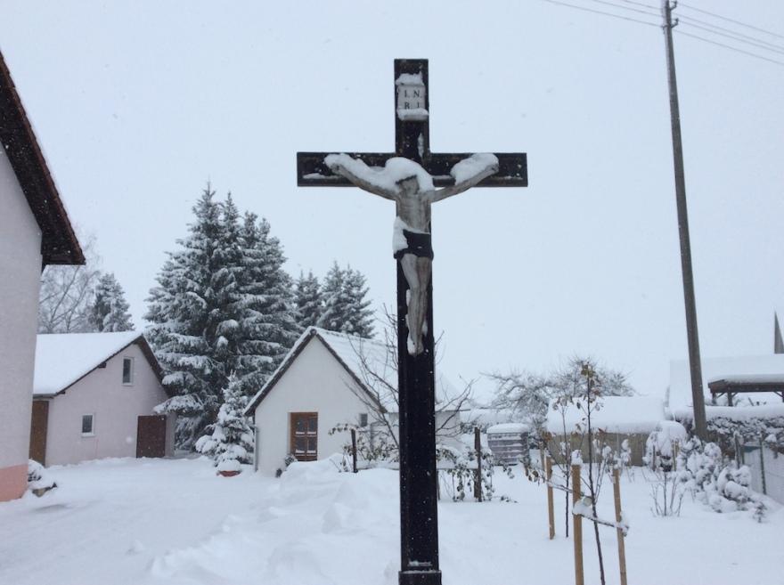 Ever present crucifixes