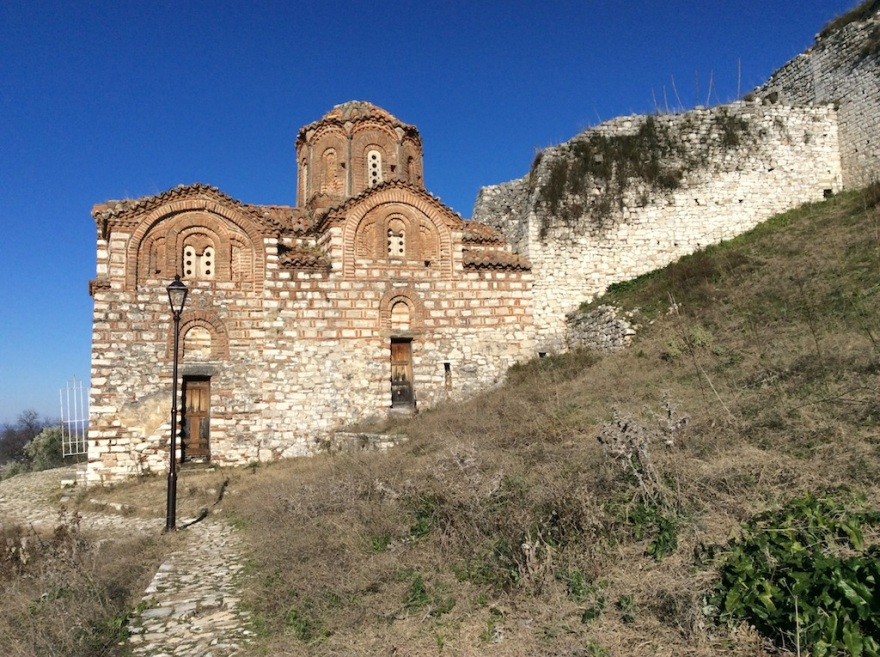 Numerous Byzantine churches dot the fort.