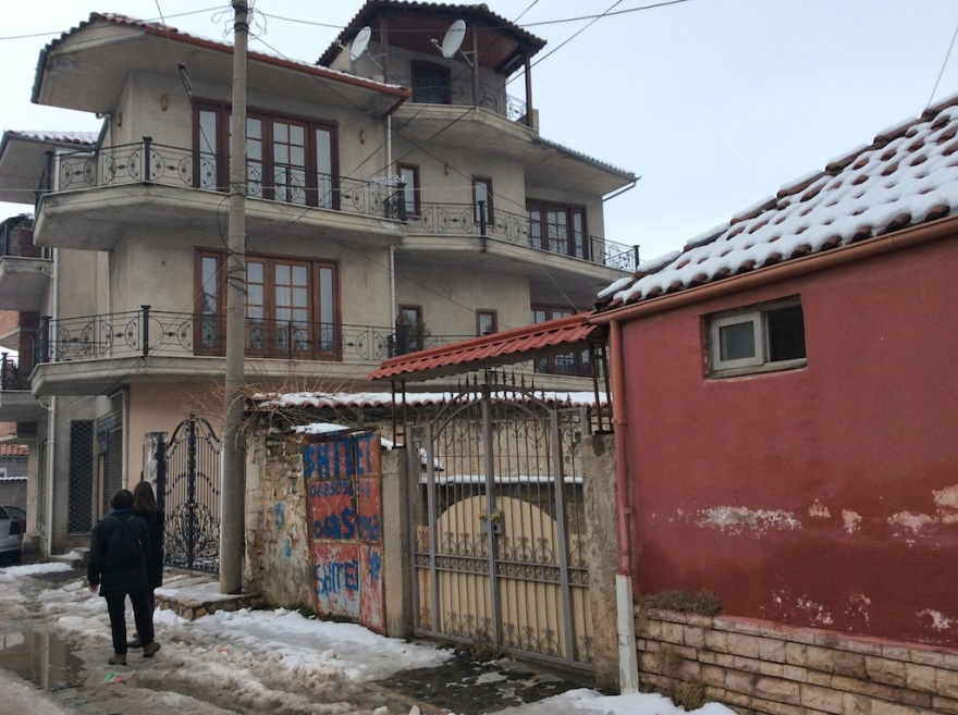 A right curious house, Albanian style