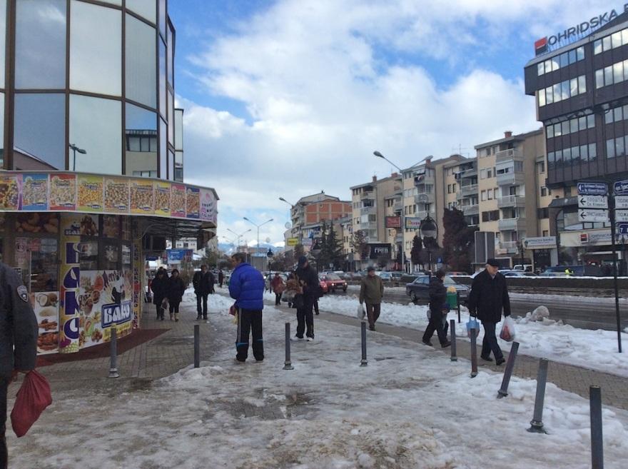 Downtown Ohrid