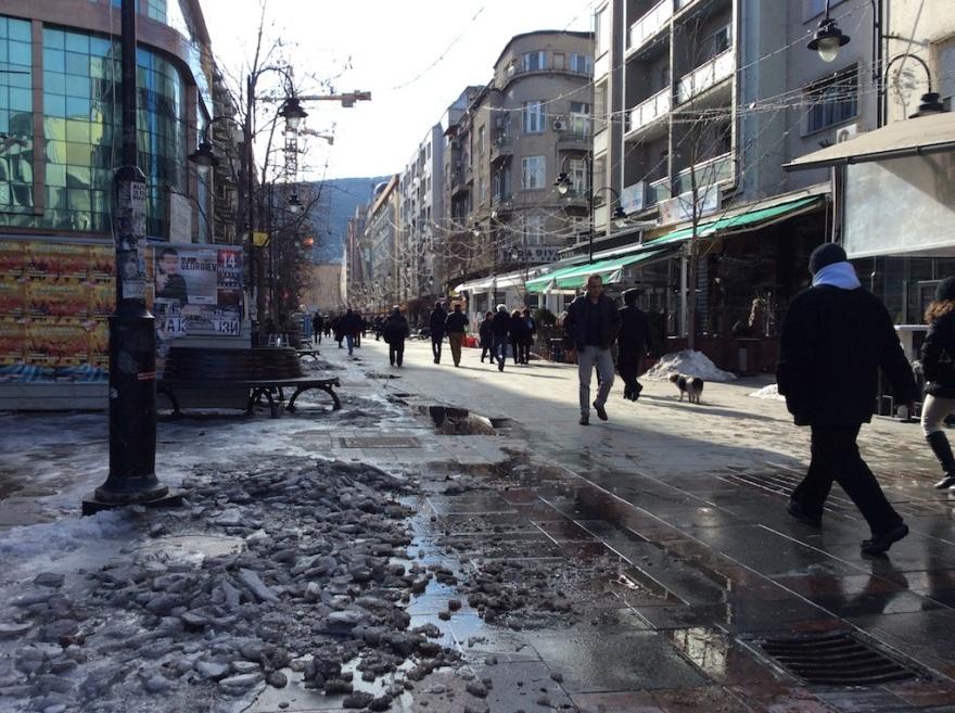 A main shopping street