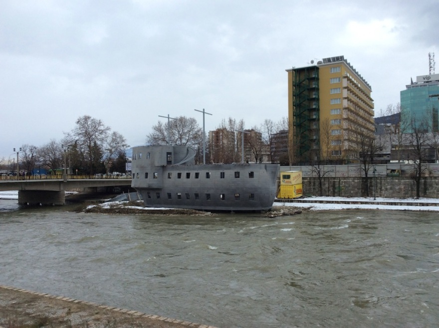 "A ""river boat"""