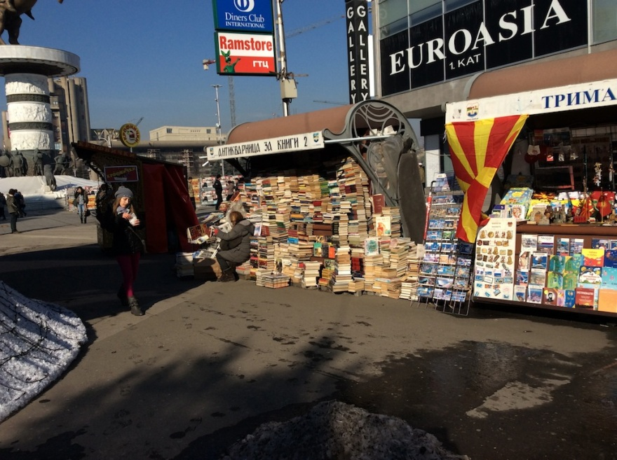 Bookstore on the street