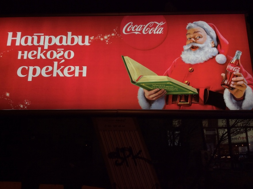 Coke is everywhere, as in all over the world, helping rot everyone's teeth.