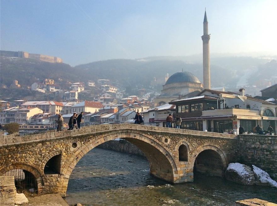 Stone Bridge in the heart of Prizren
