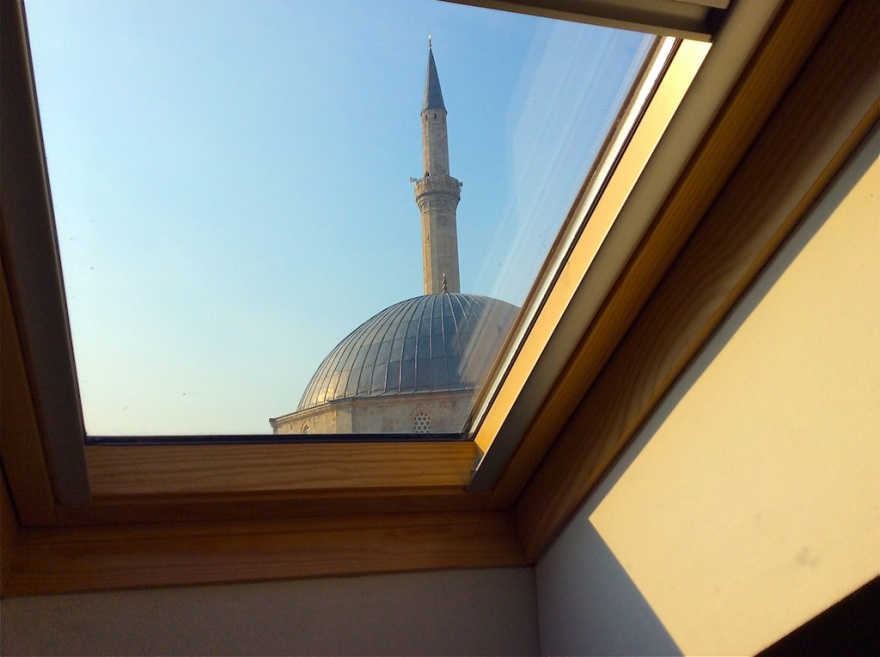 View of our neighboring mosque