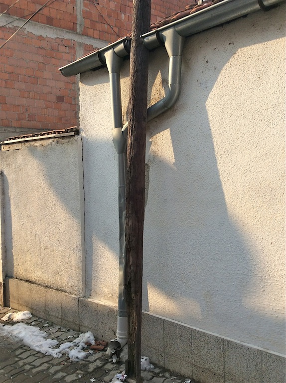 Interesting drain arrangement